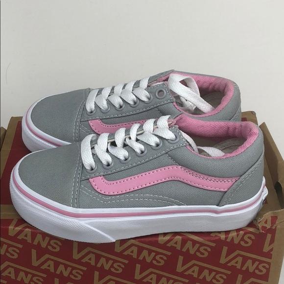 Vans Shoes | Vans Old Skool Grey Pink